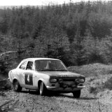 Granite City Rally - Jack Tordoff wins the 1969 Granite City Rally in his (Ford Escort Twin Cam), Car 4