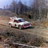 Granite City Rally - Ken Wood, (MG Metro 6R4) Car 2, on the Sonat Granite City Rally