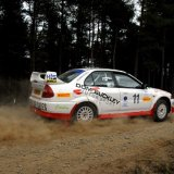Granite City Rally - (Mitsubishi), Car 11