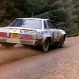 Granite City Rally - Nissan 240RS (Car 12) on the Sonat Granite City Rally