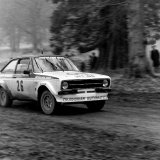 Heron Gandy Rally - Dougie Riach (Ford Escort), Car 26, on the Blair Castle Stage