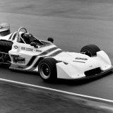 Ingliston Race - Bob Leckie (Chevron B24), entering the Esses