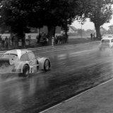 Ingliston Race - Doug Niven (Beetle), exiting the Esses