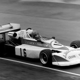 Ingliston Race - Jimmy Jack (March), entering the Esses