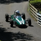 Malcolm Wishart at the first corner at Doune