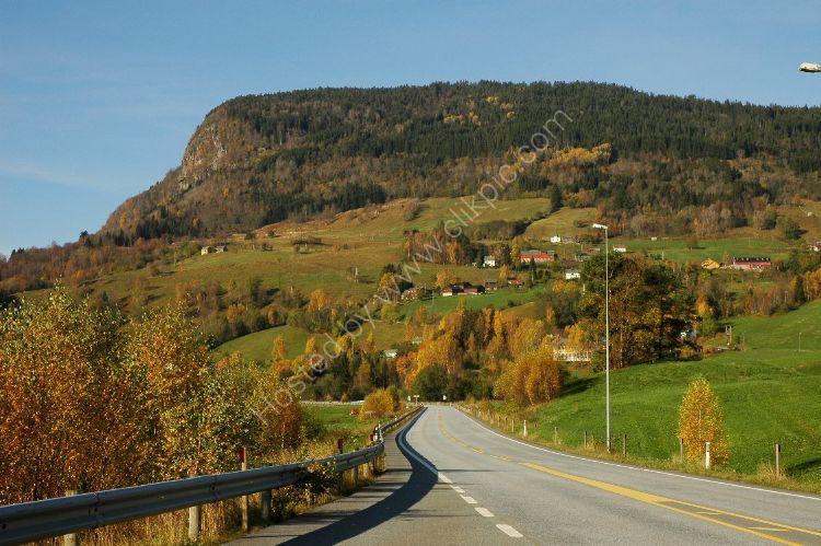 NORWAY - Autumn Highway near Voss