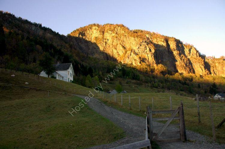 NORWAY - Rock Face near Bergen