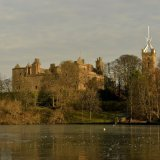 Palace - Linlithgow Palace and St.Michael's Church - Frozen Palace
