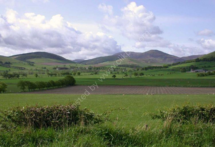 SCOTLAND - Border Country near Peebles