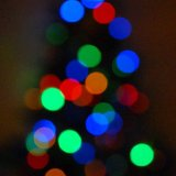 SCOTLAND - Christmas Tree Lights (an Abstract)