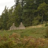 SCOTLAND - Glen Dye Cottage Ruin