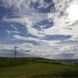 SCOTLAND - Heavenly Sky over the Cross overlooking Aberdeen Harbour