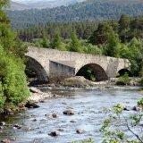 SCOTLAND - Invercauld Bridge over the River Dee near Braemar