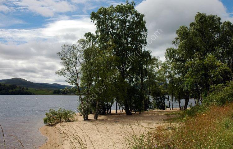 SCOTLAND - On the shore of Loch Rannoch