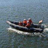 SCOTLAND - RNLI fast response RIB (Rigid Inflatable Boat)