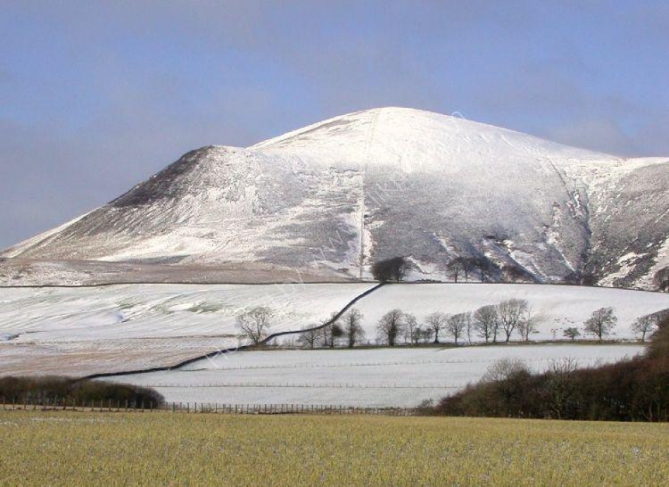 SCOTLAND - Tinto Hill in Winter