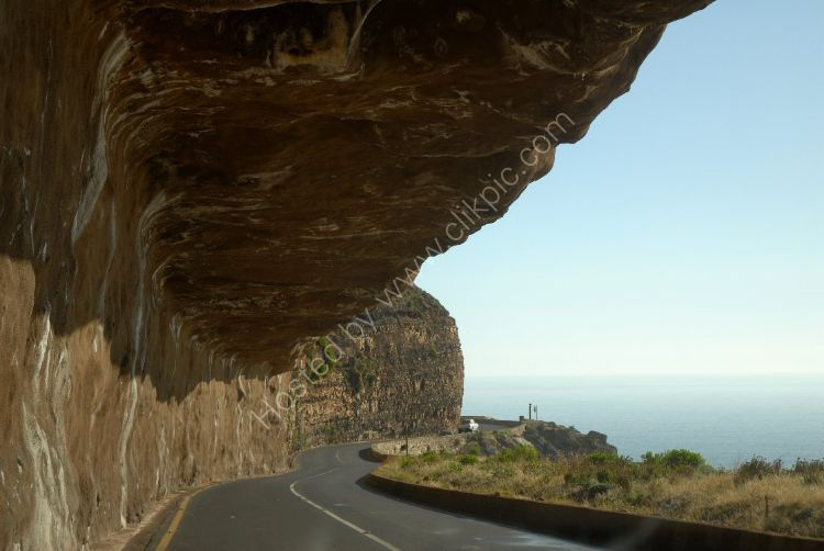 SOUTH AFRICA - Overhang on the Chapmans Peak Drive to Cape of Good Hope