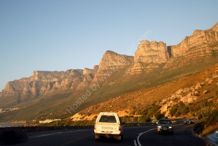 SOUTH AFRICA - Table Mountain National Park, (heading north)
