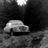 Scottish International Rally - George Stroud (Saab) in 1969