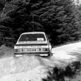 Snowman Rally - Gordon Smith (Ford Escort) Car 15, Sideways