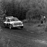 Trossachs Rally - Ken Wood, (MG Metro 6R4) on the Loch Carron Stage