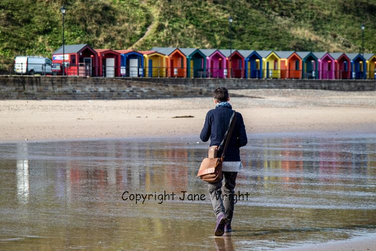 Sanpping in Saltburn, September 2019