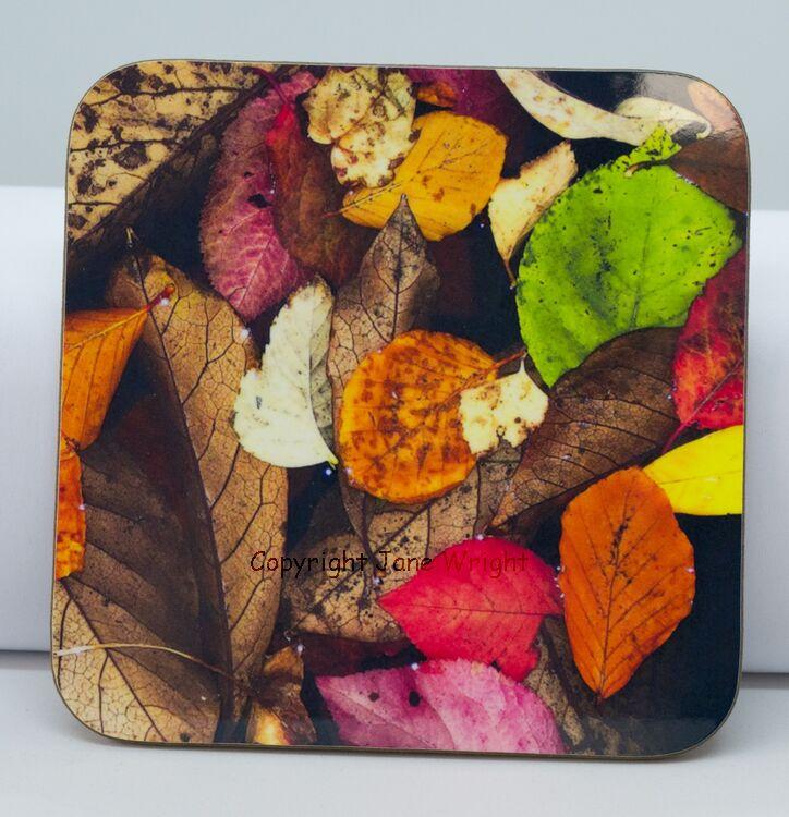 Coaster, 'Colourful Puddle'