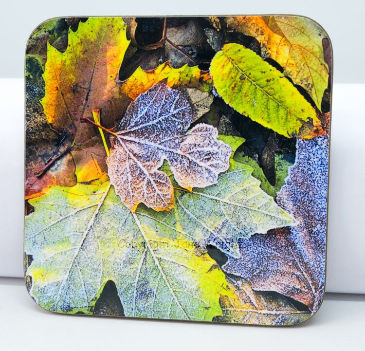 Coaster, 'Frosted colours'