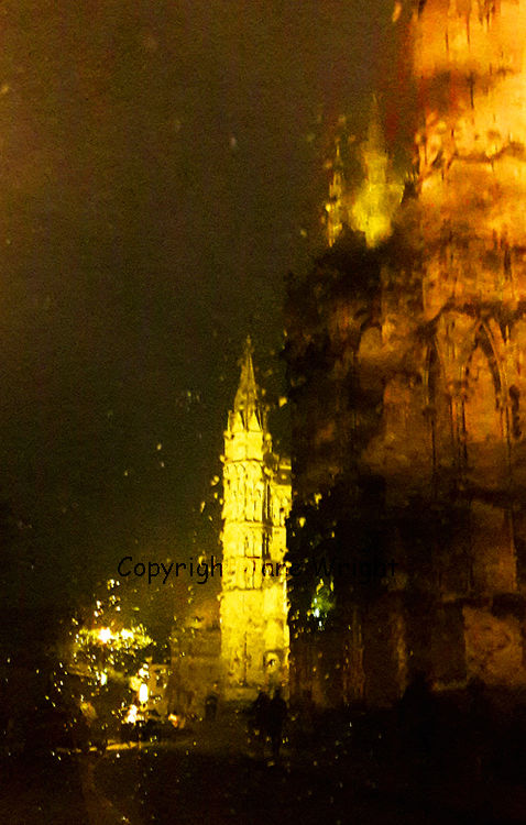 Warm Summer Rain, Lincoln Cathedral