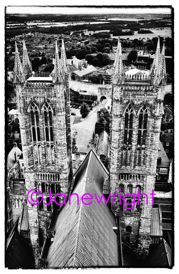 Tower View, Lincoln Cathedral