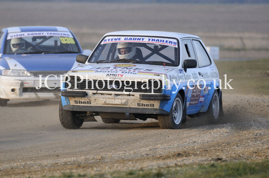Ford Fiesta driven by Marc Griffin