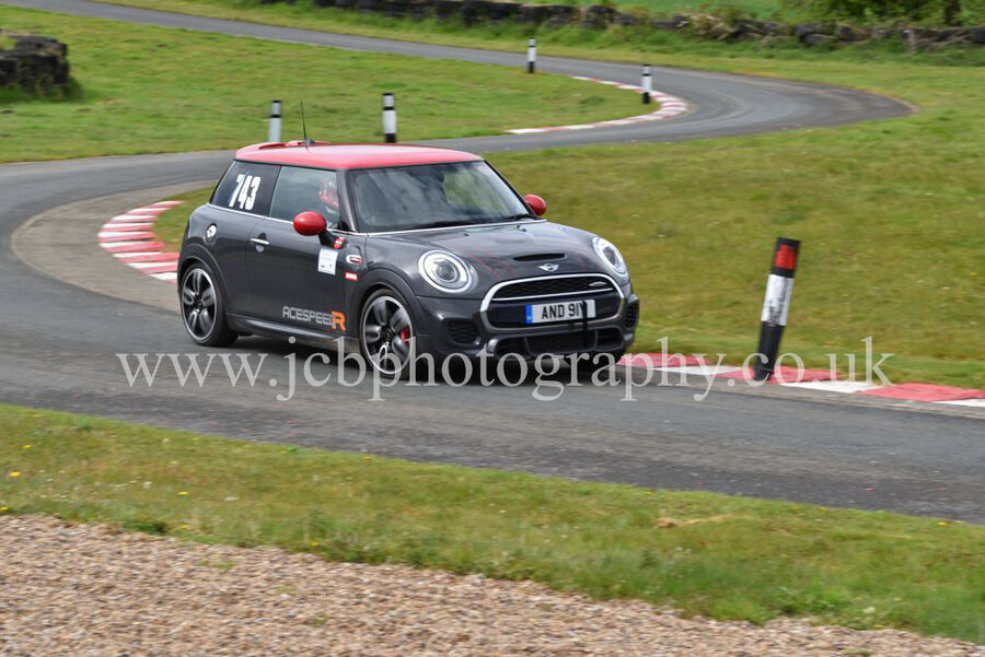 BMW Mini John Cooper Works driven by Andy 'Ace' Harrison