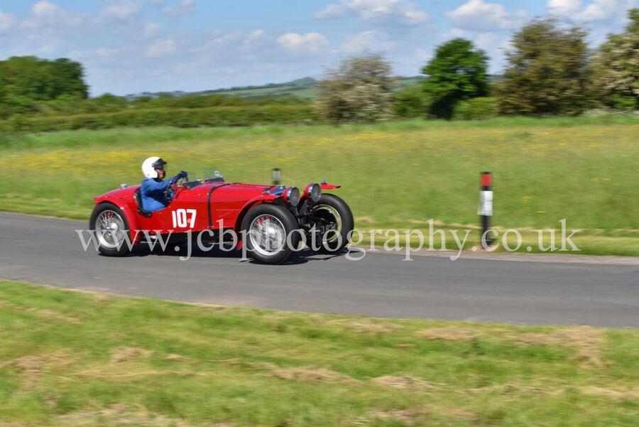 Riley TT Sprite driven by John Hunter