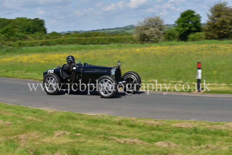 Bugatti Type 1 driven by Edmund Burgess