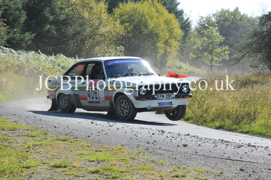 Ford Escort RS1800 driven by Tim Pearcey and co-driver Neil Shanks