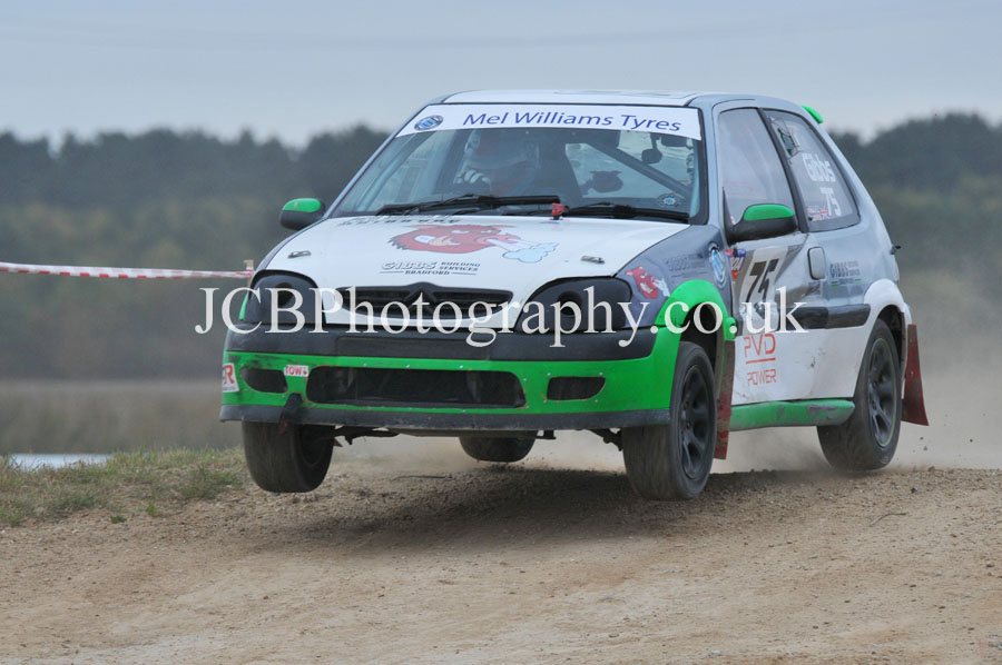 Citroen Saxo VTR driven by Eddie Gibbs