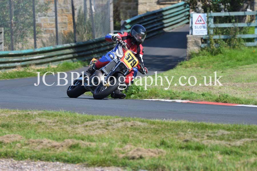 Honda ridden by Glyn Poole