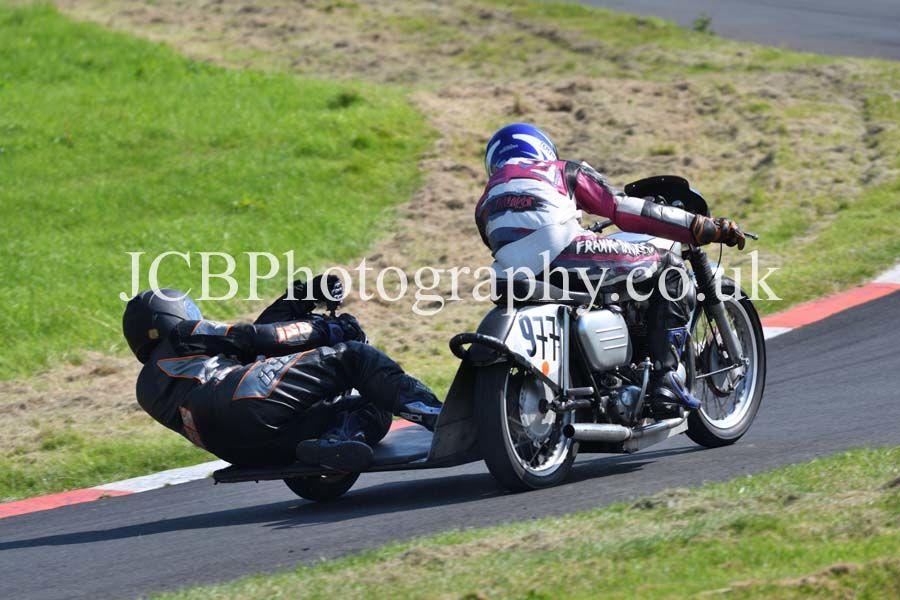Norton ridden by Peter Jordan and D Fitzsimons