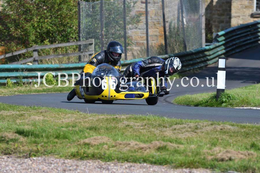 FWR Triumph ridden by Matt Cox and Keith Jackson