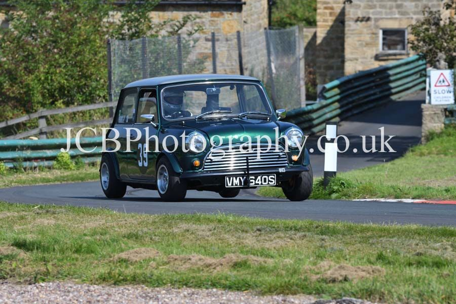 Mini driven by Matthew Chesterman