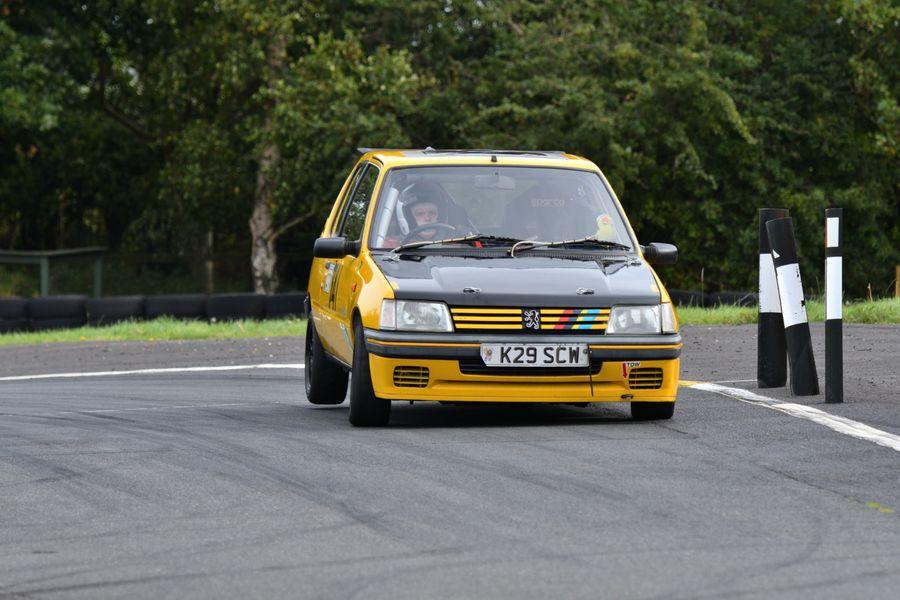 Peugeot 205 driven by Nick Mitchell