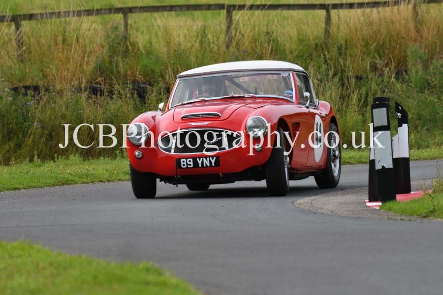 Austin Healey 3000 driven by Trish Cecile-Pritchard