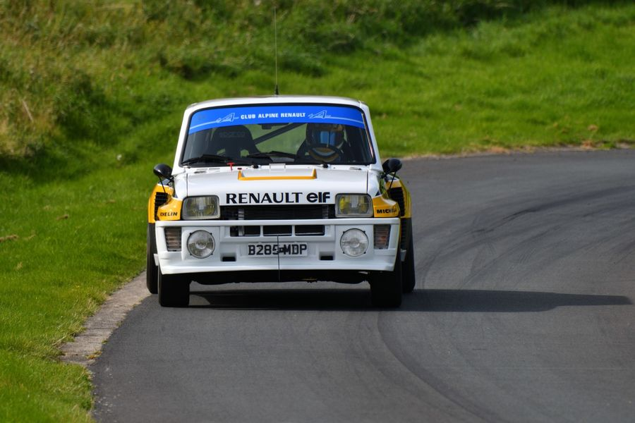 Renault 5 Turbo 2 driven by Sheridan Bell