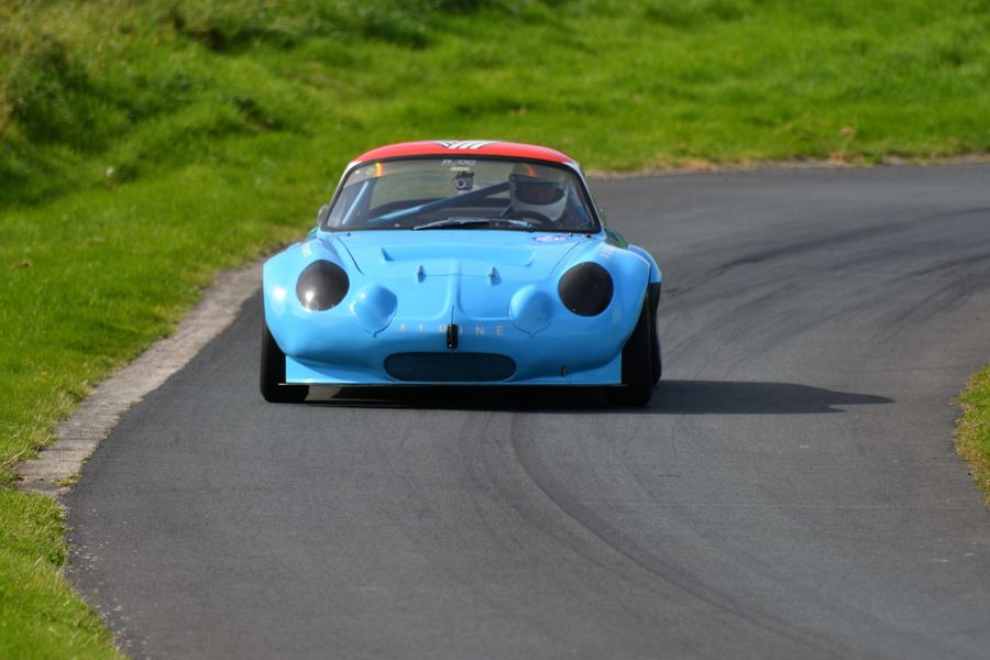 Alpine A110 driven by Bob Gibson