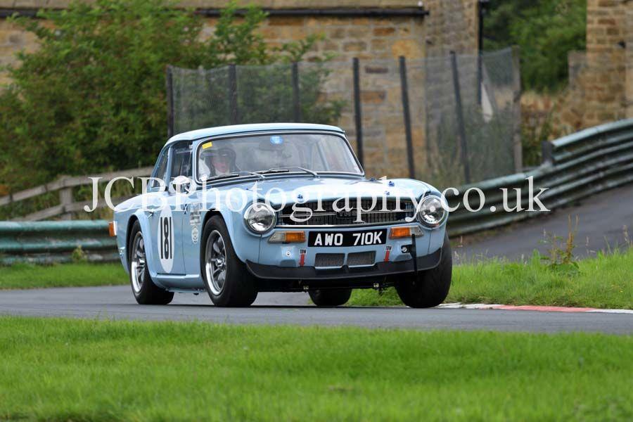 Triumph TR6 driven by Jim Johnstone