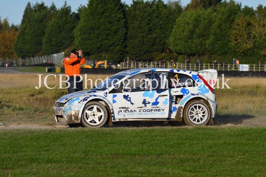 Ford Fiesta driven by Julian Godfrey