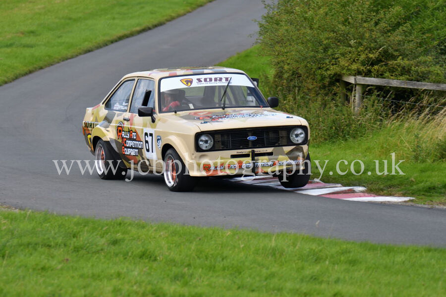 Ford Escort MkII RS 2000 driven by Stuart Stelling