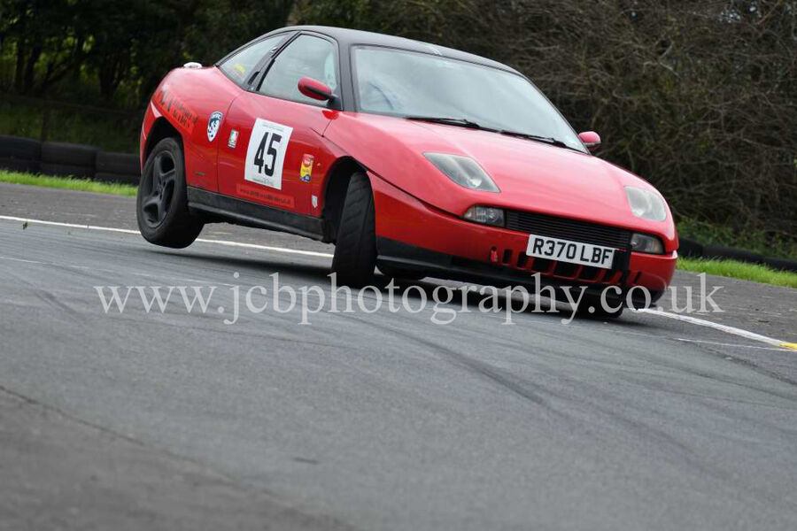 Fiat Coupe driven by Andrew Sherratt