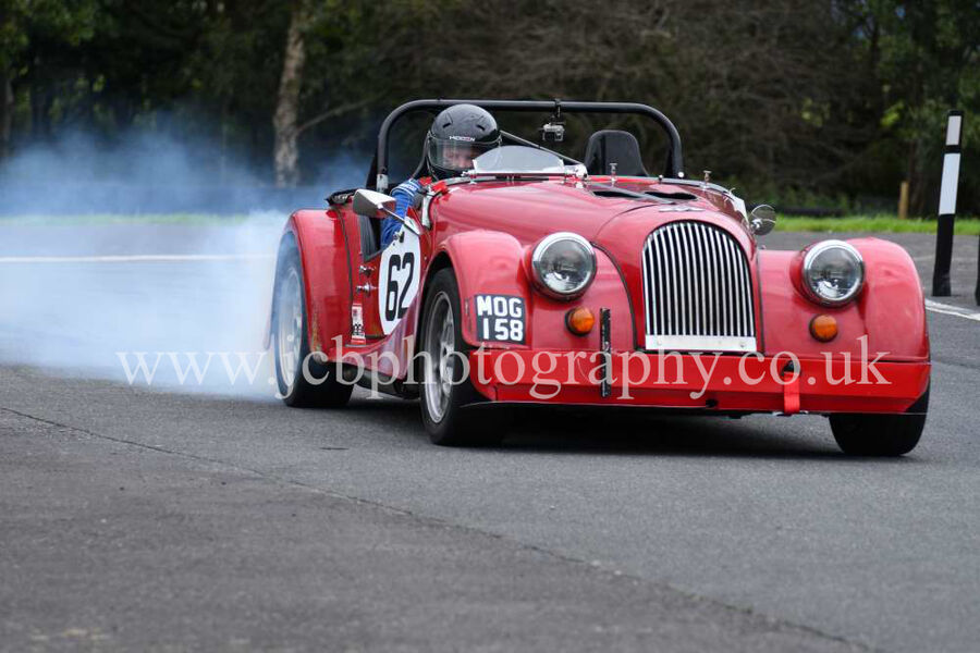 Morgan plus 8 driven by Mike Meredith