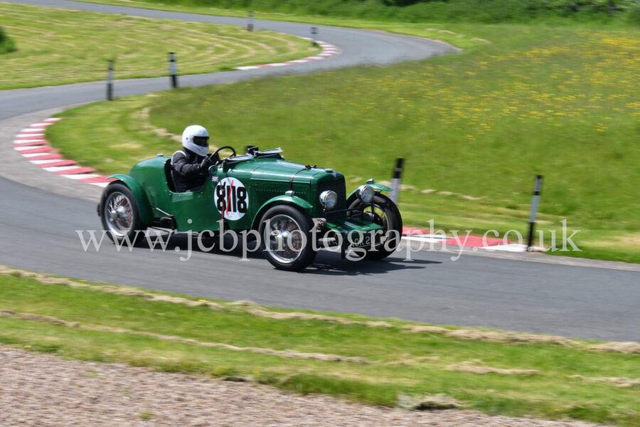 Alvis 12/70 Special driven by Ian Wozencroft